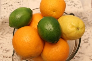 oranges lemon limes