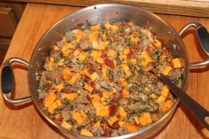 Vegetable Beef Skillet (1)