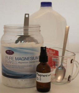 Magnesium oil ingredients