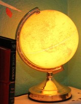 Globe lamp Thirfty Thursday 2