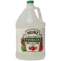 Heinz white distilled vinegar for non-toxic cleaning