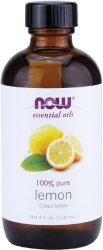 Lemon Essential Oil mildly scented vinegar and essential oil cleaner