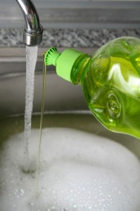 Soapy Sink for non toxic cleaning